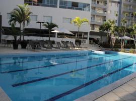 Park Veredas Flat Service 1 Quarto, apartment in Rio Quente