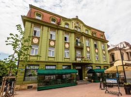 Grand Hotel Praha – hotel w Jiczynie