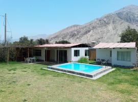 Casa de campo lunahuana, holiday home in Lunahuaná