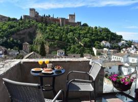 Apartamentos Turísticos Alhambra, hotel en Granada