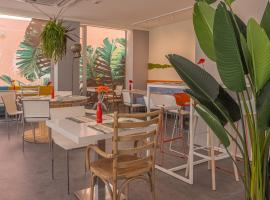Design Hotel Astra B&B, hotell i Misano Adriatico