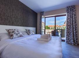 Penzion a restaurace Feldsberg, hotel ve Valticích