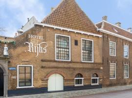 Boutique Hotel Rijks I Kloeg Collection, Hotel in Goes
