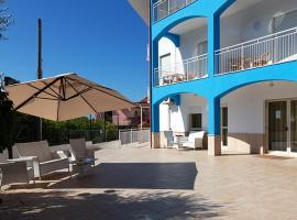Hotel Parthenius, hotel a Cirella