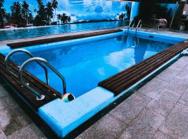 Гостевой дом Любава, hotel with pools in Vityazevo