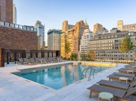 Sonder l Battery Park, апартаменты/квартира в Нью-Йорке