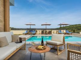 Belair villas, hotel with pools in Chania Town