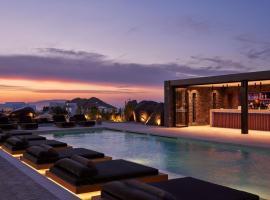 SantAnna Luxury Suites, hotel v destinaci Imerovigli