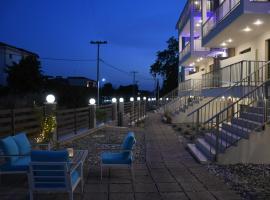 Theano Luxury Suites Nikiti, hotel in Nikiti