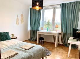 Uroczy Apartament 50 metrów od Krupówek, apartmán v Zakopanom