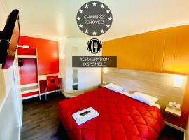 Première Classe Coignieres, accessible hotel in Coignières