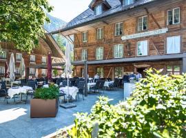 Kemmeriboden-Bad Swiss Quality Hotel, отель в городе Schangnau, рядом находится Музей Балленберг под открытым небом