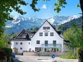 Hotel garni Alpengruss, hotel near Garmisch-Partenkirchen City Hall, Garmisch-Partenkirchen