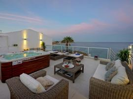 NEW! Casa Latino - Oceanfront - Luxury & Charming villa- Jacuzzi at Rooftop, villa in Albufeira