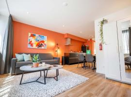 Trendy Design 55m2 Apartment with Balcony, apartment in Den Bosch