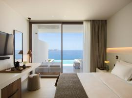 White Coast Pool Suites, Adults Only - Small Luxury Hotels of the World, accommodation in Mytakas