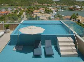 Luxo e conforto com vista privilegiada, hotel perto de Ilha Japonesa, Cabo Frio