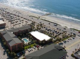 Beachfront Palms Hotel, hótel í Galveston