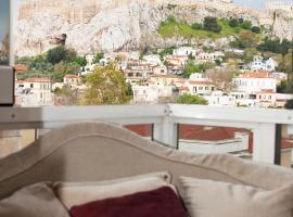 Stunning Studio with Acropolis and Parthenon View, apartment in Athens