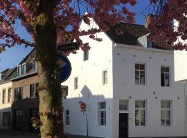 Stadsvilla met patio in centrum Maastricht, holiday home in Maastricht