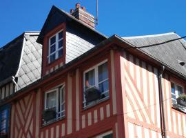 Honfleur duplex, apartment in Honfleur