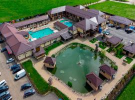 Aquathermo(Thermal springs), hotel with pools in Maykop