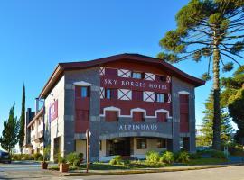 Sky Borges Hotel Alpenhaus - Gramado, hotel in Gramado