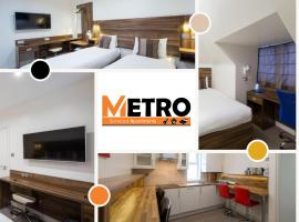 Heathrow-Windsor Serviced House by Metro Serviced Apartments ,Free Parking & WiFi, apartment in Slough