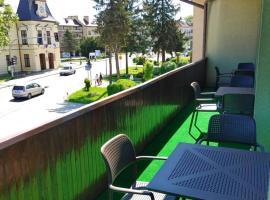 Pierwsze Piętro Restauracja&Noclegi – hotel w mieście Lesko