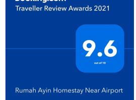 Rumah Ayin Homestay Near Airport, budget hotel in Palembang