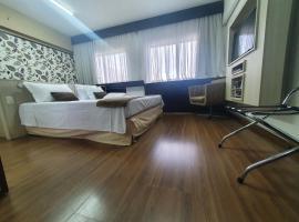 Lindo Flat em Hotel 4 estrelas na Bela vista, serviced apartment in Sao Paulo