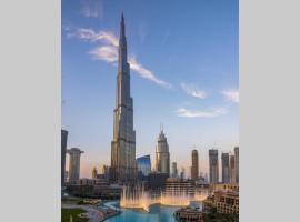 FIRST CLASS 3BR with full BURJ KHALIFA VIEW, apartment in Dubai