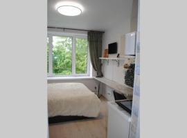 Новая уютная студия, бюджетный отель в Москве