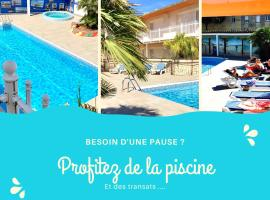 Amerique Hotel Palavas Montpellier Sud -LOGIS-, hotel in Palavas-les-Flots