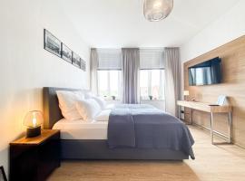 Luxus-Apartment in Leipzig mit Privat-Parkplatz, Ferienunterkunft in Leipzig