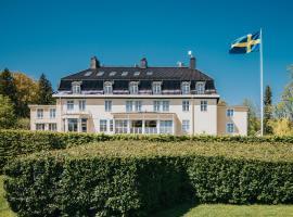 Villa Fridhem Hotell - Mat - Möten, hotell nära Kolmårdens djurpark, Åby