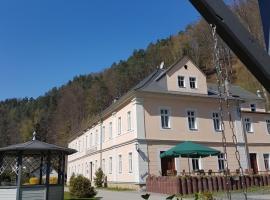 Hotel Garni Dekorahaus, Hotel in Bad Schandau