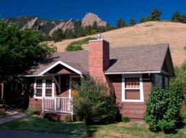 Colorado Chautauqua Cottages, Hotel in Boulder