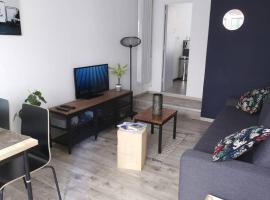 T2 Cosy 4 Pers Max Centre ville & Parking & Wifi fibre, apartment in Le Havre
