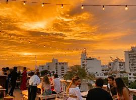 Hotel Miami, hotel en Santa Marta