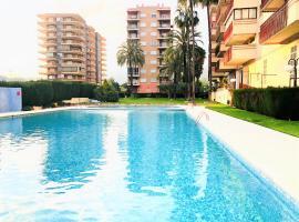 Apartamento en primera línea de playa, apartment in Benicàssim