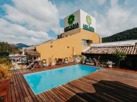 Pousada Arcadia, family hotel in Itaipava