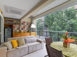 Maravilhosa Cobertura Duplex com Varanda Gourmet, churrasqueira, wi fi e ar nos quartos, apartment in Rio de Janeiro