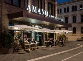 Hotel AMANO Grand Central, hotel near Berlin Central Station, Berlin