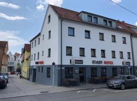 Stadt Hotel Reutlingen, отель в Ройтлингене