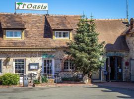 Hotel Oasis、Villaines-la-Juhelのホテル