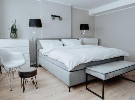 2-Zimmer City Apartment 57m² mit King Size Bett und Küche, apartment in Münster