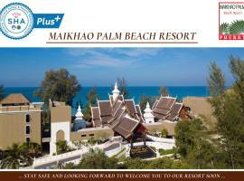 Maikhao Palm Beach Resort - SHA Plus, hotel near Phuket International Airport - HKT,