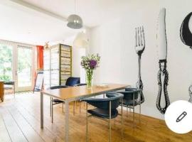 Studio Zaagmolen, Superb stylish apartment, 65m2 with private garden, close to city centre, boutique hotel in Utrecht
