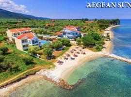 "Aegean Sun Hotel, hotel near Kavala International Airport """"Megas Alexandros"" - KVA, Skala Rachoniou"